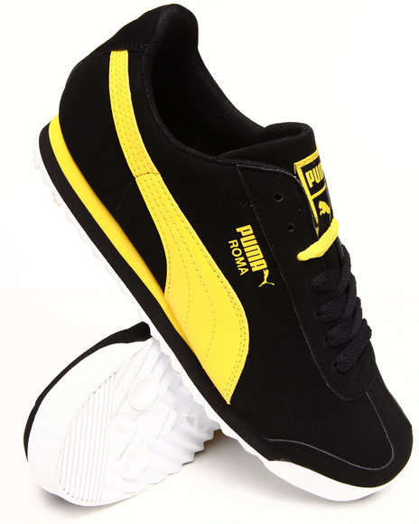 Puma - Men Black Roma Sl Nbk 2 Sneakers