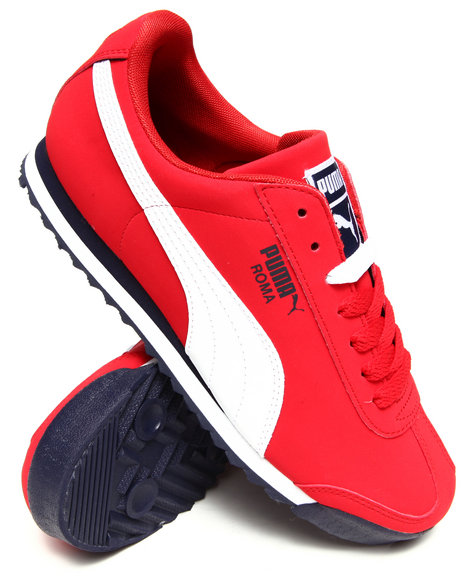 Puma Red Roma Sl Nbk 2 Sneakers