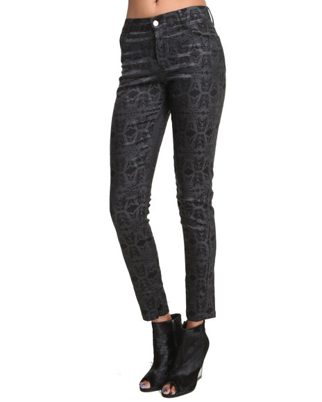 This Is A Love Song - Women Black Billie Jean Pants - $76.99