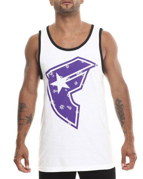 Famous Stars & Straps White Boh Sessions Tank Top