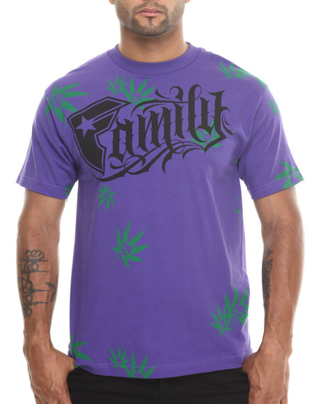 Famous Stars & Straps Purple Family Session Tee