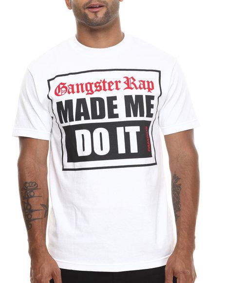 Famous Stars & Straps - Men White G-Rap Tee