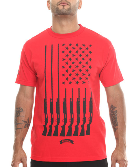 Famous Stars & Straps - Men Raw Wash Gun Country Tee