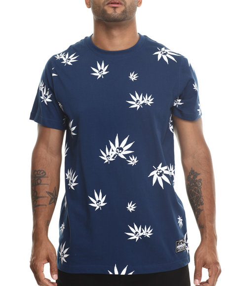 Famous Stars & Straps Navy Skunk Tee
