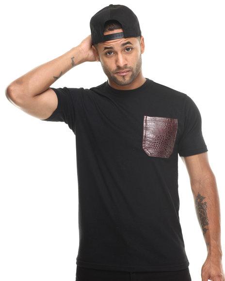 Basic Essentials - Men Black Barefox Snapback / Tee Set - $19.99