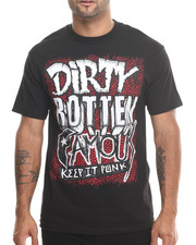 Shirts - Dirty Rotten Famous Tee