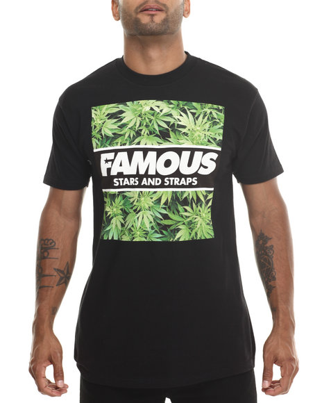 Famous Stars & Straps Black Hot Box Tee
