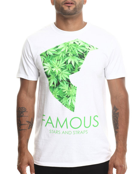 Famous Stars & Straps White Medicinal Tee