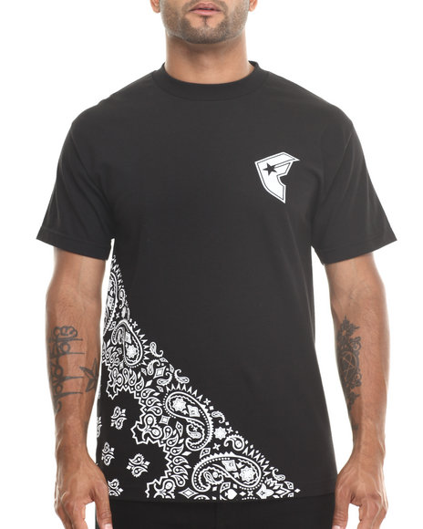 Famous Stars & Straps Black Down South Tee