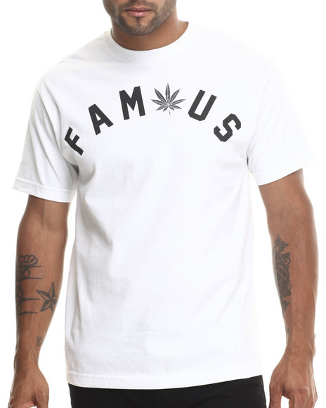 Famous Stars & Straps White Get Lit Tee