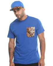 Men - Barefox Leopard - Print Snapback / Tee Set