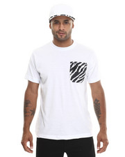 Basic Essentials - Barefox Zebra - Print Snapback / Tee Set