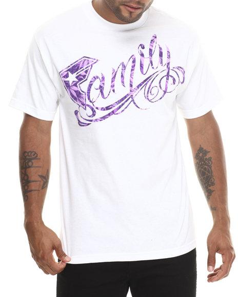 Famous Stars & Straps - Men White Family Leaf Tee - $22.00