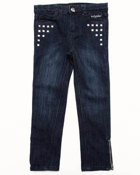 Baby Phat - STUDDED DENIM PANT (4-6X)