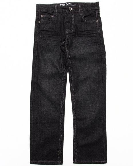 DKNY Jeans Boys Black 5 Pocket Mott Jeans (8-20)