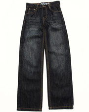 Bottoms - FANBACK POCKET JEANS (8-20)