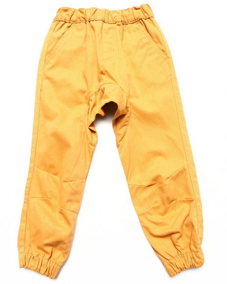 Akademiks - Boys Khaki Twill Jogger Pants (4-7)