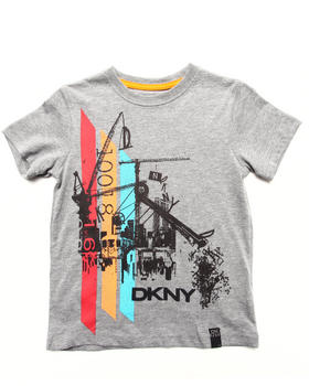 DKNY Jeans - HYDRAULIC TEE (4-7)