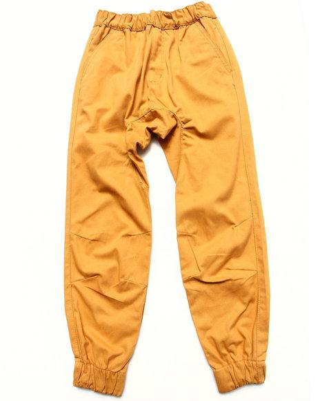Akademiks - Boys Khaki Twill Jogger Pants (8-20) - $35.99