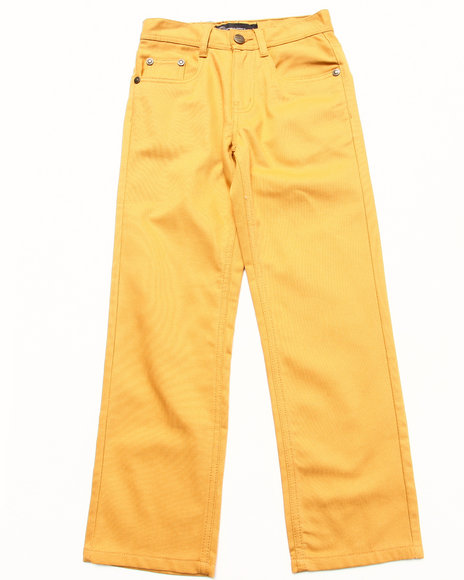 Akademiks - Boys Khaki Fanback Pocket Jeans (8-20) - $28.99