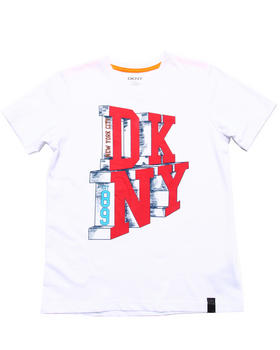 DKNY Jeans - CITY LIFE TEE (8-20)
