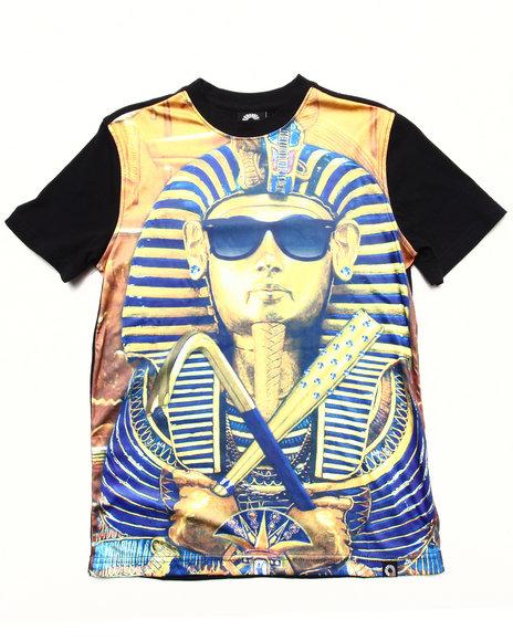 Akademiks Boys Multi Pharaoh Sublimation Tee (8-20)
