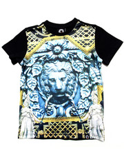 Akademiks - LION SUBLIMATION TEE (4-7)