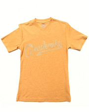 Boys - SLUB V-NECK TEE (8-20)