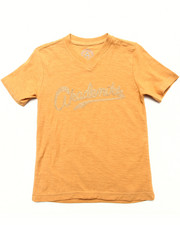 Tops - SLUB V-NECK TEE (4-7)