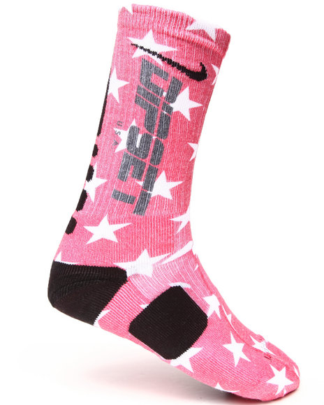 Diplomats Men Dipset Stars Nike Elite Socks Red