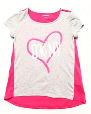 Girls - NEON SIGN TEE (7-16)
