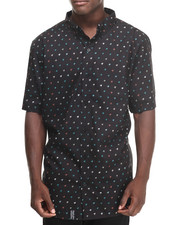 LRG - HOUND DOGGIE S/S BUTTON-DOWN (B&T)