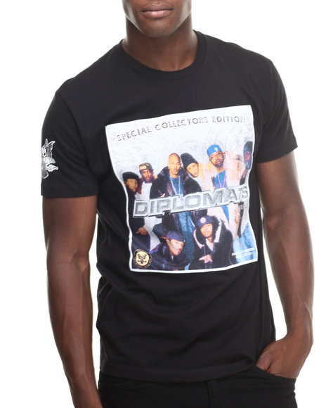 Diplomats - Men Black Diplomats Mixtape 1 Tee - $20.99