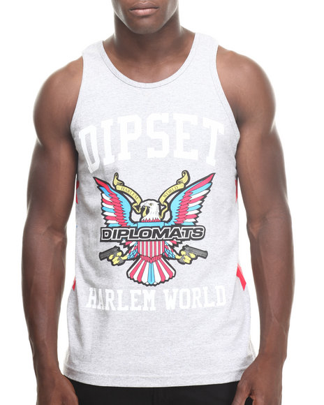 Diplomats Grey Tanks