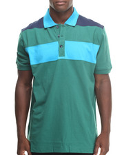 Basic Essentials - Basic Striped S/S Polo