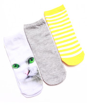 Accessories - NO SHOW KITTY STRIPE 3-PACK