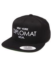 Men - NY Diplomat USA Snapback Cap