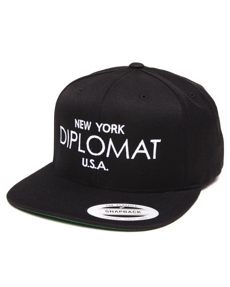 Diplomats Black Clothing & Accessories