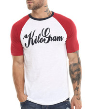 Kilogram - Kilogram Signature Flocked 3 / 4 Sleeve Raglan Tee