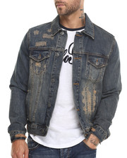 Kilogram - Broken Denim Jacket