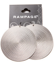 Jewelry - Textured Disc Earrings