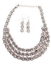 Jewelry - Multi Chain Earring/Necklace Set