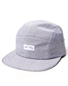 HUF - U S A Chambray Volley 5-Panel Cap