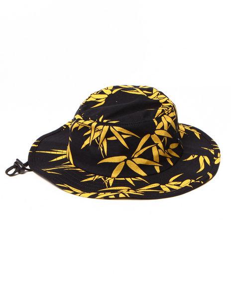 HUF Black Bamboo Jungle Hat