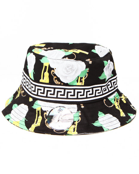 Eight 732 - Men Black Main Bucket Hat