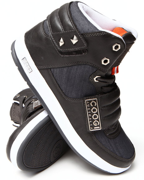 Coogi - Men Charcoal Stein Sneaker