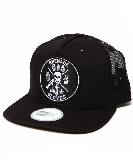Grenade Men Grenade Warrior New Era 9Fifty Snapback Cap Black