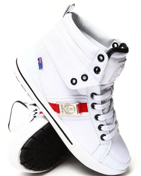 Coogi - Men White Dexter Classic Coogi Sneaker