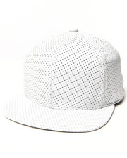 Men - Open Air Leather Perforated Hat
