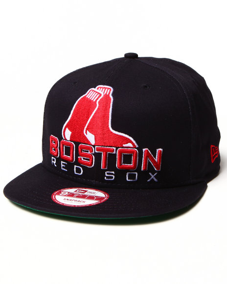 New Era Boston Red Sox Retro Chop Hat Black Medium/Large